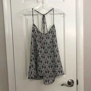 Abercrombie and Fitch Black and White Strappy Cami